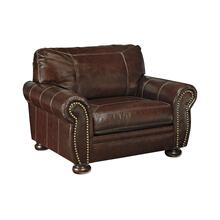 Product Image - ASHLEY 5040423C Banner Coffee Leather Chair