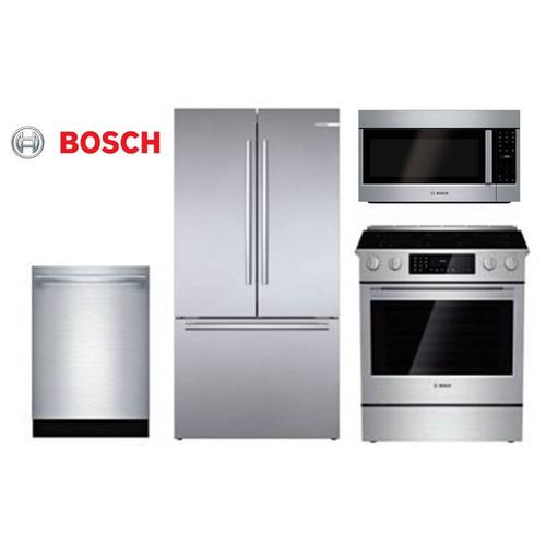 Packages - Bosch Premium Kitchen Suite - Stainless Steel - Before Rebate