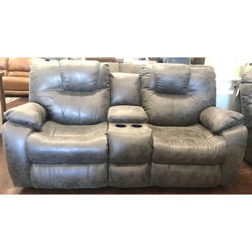 Charcoal Grey Love Seat