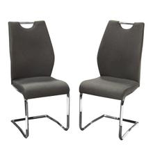 View Product - London Chair - Grey Fabric
