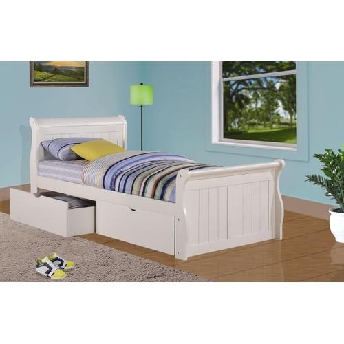 Gallery - Twin Sleigh Bed