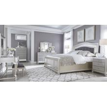 ASHLEY Coralayne Queen Bedroom Set: Queen Bed, Nightstand, Dresser & Mirror