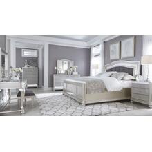 ASHLEY Coralayne King Bedroom Set: King Bed, Nightstand, Dresser & Mirror