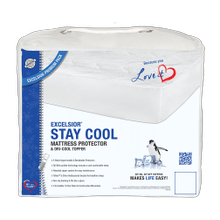 Stay Cool Mattress Protector & Dri-Cool Topper