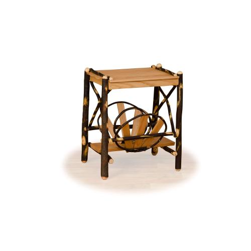Hickory Magazine End Table