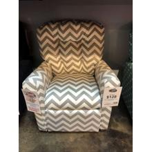 Ziggy Gray Kids Recliner