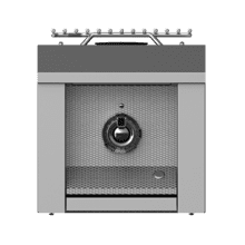 "Aspire by Hestan 12"" Single Side Burner LP Steeletto"