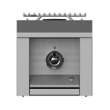 "Aspire by Hestan 12"" Single Side Burner NG Steeletto"