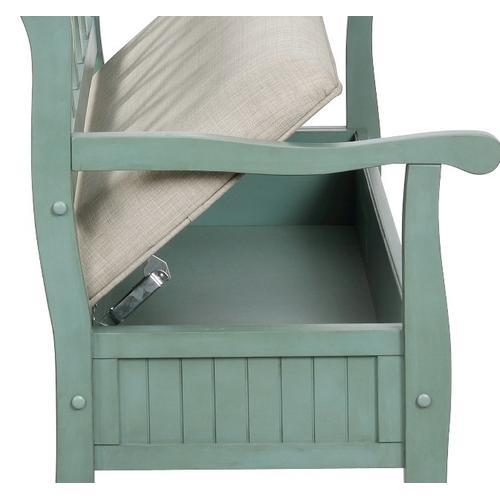 Winslett Storage Bench - Teal