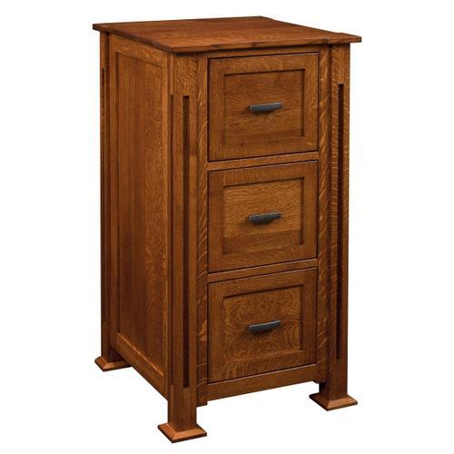 3 Door Parker Mission File Cabinet