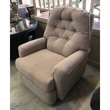 ID:195431 Wall recliner in chrome fabcric