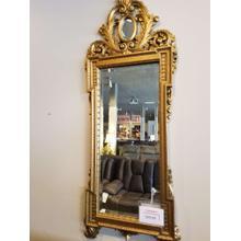 Walker Glass Golden Beveled Mirror