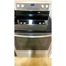 Product Image - USED- Gold® 6.2 cu. ft. Capacity Electric Range with True Convection Cooking System-E30SSGLAS-U  SERIAL #80