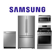 Samsung 4 Piece Kitchen Package. Price Valid Thru 8/12/20.