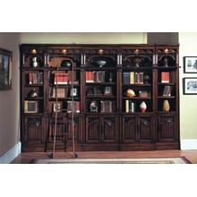 Barcelon Inset Bookcase Wall