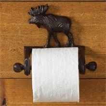 Cast Moose Toilet Tissue Holder