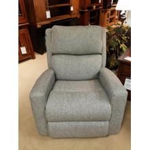 Catalina Fabric Power Rocking Recliner with Power Headrest in Slate Fabric