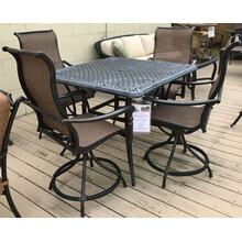 ID:185351 42'' balcony table and four swivel stools