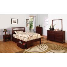 Carus 4Pc Twin Bed Set