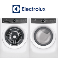 Electrolux Laundry Pair W/ Lux Care & Lux Quiet