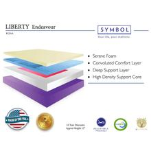The Liberty Endeavor is an all foam mattress that is Adjustable Friendly. Click on image for details