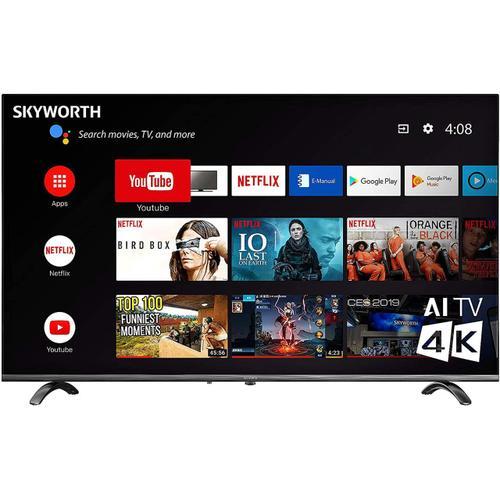 "Skyworth - UC6200 Series 55"" 4K 60Hz Android Smart TV"
