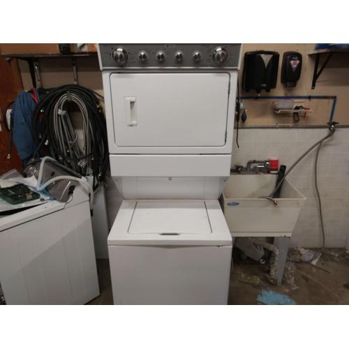 USED Maytag Super Stack Electric Laundry Pair #20