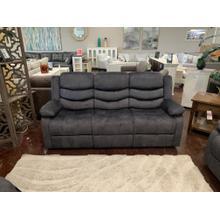 Charcoal Fabric Sofa