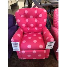 OX Pink Kids Recliner