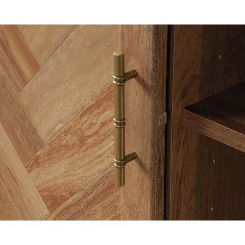 Sauder - Coral Cape Storage 1 Door Accent Cabinet