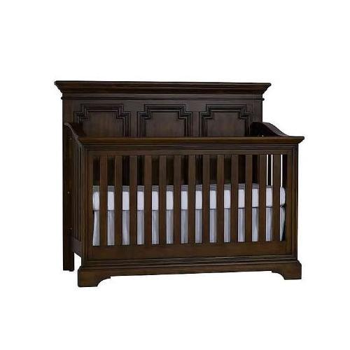 Amherst Lifetime Crib - Burnt Oak