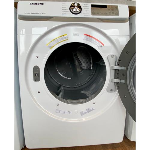 Samsung DVE45R6300W     7.5 cu. ft. Smart Electric Dryer with Steam Sanitize  in White