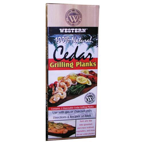 Saffire Grill & Smoker - Cedar Grilling Planks (2-pack)
