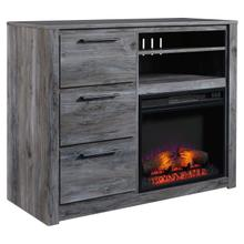 Baystorm Fireplace Media Chest