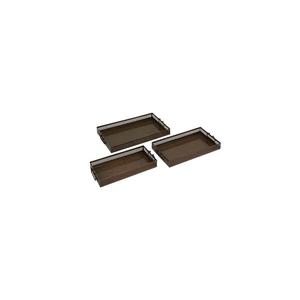3 Sizes Metal Trays