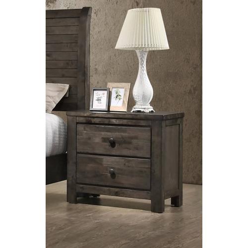 New Classic Furniture - Blue Ridge Nightstand - Rustic Gray