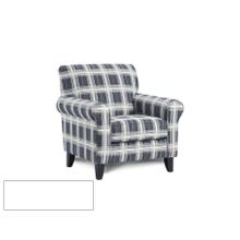 See Details - Stanza Navy Accent Chair