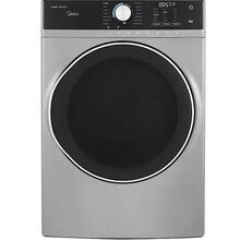 8-cu ft Stackable Steam Cycle Electric Dryer (Graphite Silver)