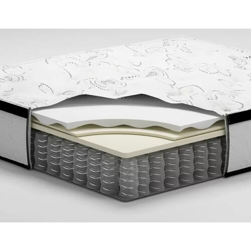 "ASHLEY M697 Chime 12"" Hybrid Mattress In A Box"