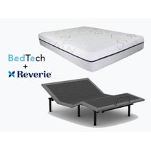BEDTECH Felicity Mattress & REVERIE Adjustable Power Base- KING