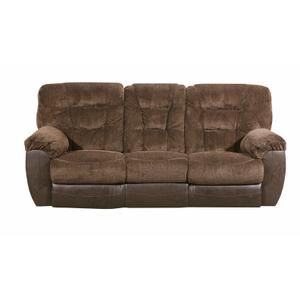 UNITED 50439BRG Darcy Chocolate Reclining Sofa, Reclining Console Loveseat & Cuddler Recliner Group