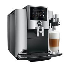 JURA S8 Automatic Coffee Machine, Black with Chrome