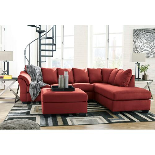 Darcy Sectional Right Salsa
