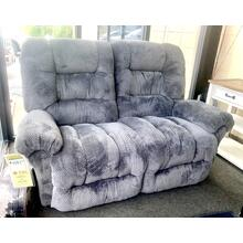 SEGER POWER RECLINING SPACESAVER LOVESEAT in STORM        (L720RP4-22183,44934)