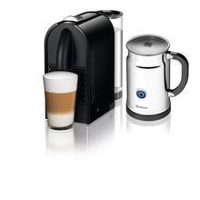 Nespresso U D50 Espresso Maker with Aeroccino Milk Frother, Pure Black