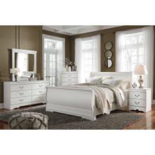 View Product - Anarasia - Queen Sleigh Bed, Dresser, Mirror, & 1 X Nightstand