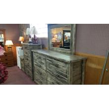Solid Basswood Bedroom set - Queen Panel Bed, Dresser w/Mirror, Chest, and Night stand