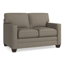 Alex Track Arm Loveseat - Fog