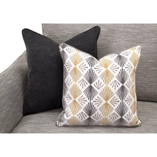 Springer Sofa in Hannigan Fog Fabric