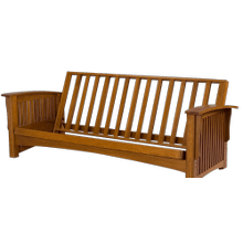 Manhattan - Solid Oak Futon Frame